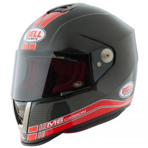 Bell M6 Carbon Red